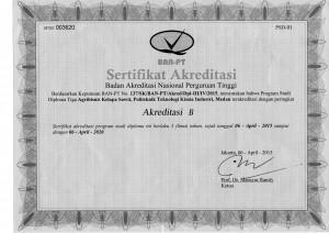 Akreditasi AKS 2015-2020