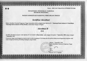 Akreditasi TKI 2006-2011