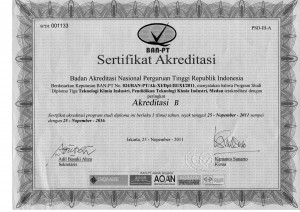 Akreditasi TKI 2011-2016