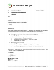 2017_001 Surat Permohonan Pemenuhan Tenaga Kerja