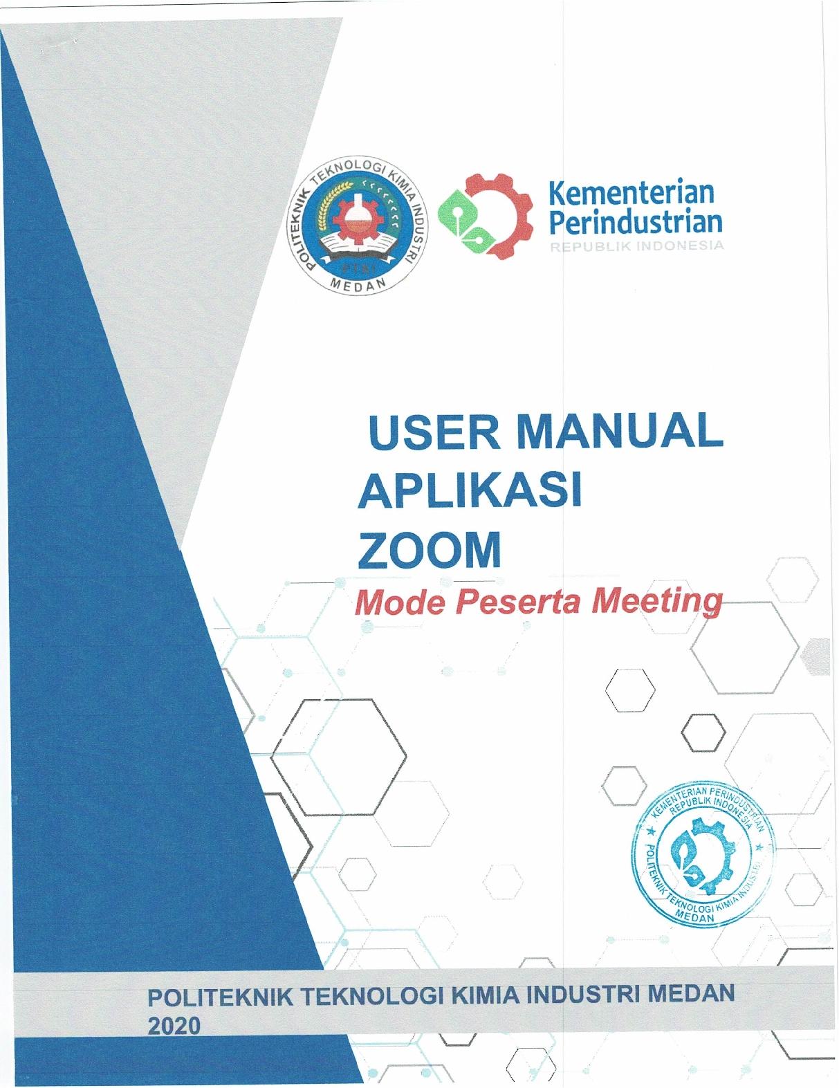 Pengumuman Panduan Orientasi Online (PKKMB) PTKI Medan dan Manual Book Zoom3